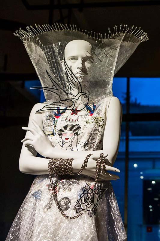 2016 TATTOO FOREVER. MOSTRA INTERNAZIONALE MAM Maiani Accademia Moda